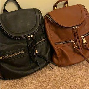 2 Steve Madden backpacks!